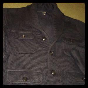 J Crew Shawl Collar 4 pocket Cardigan